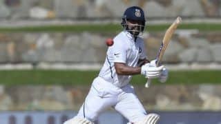 India vs West Indies 2019, 1st Test: Ajinkya Rahane scores 81 as India recover after shaky start